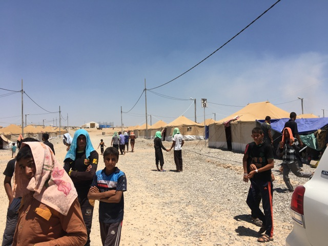 Ein Flüchtlingscamp im Nordirak